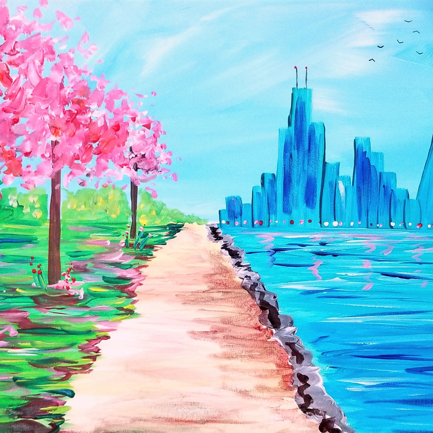 Pink Riverwalk