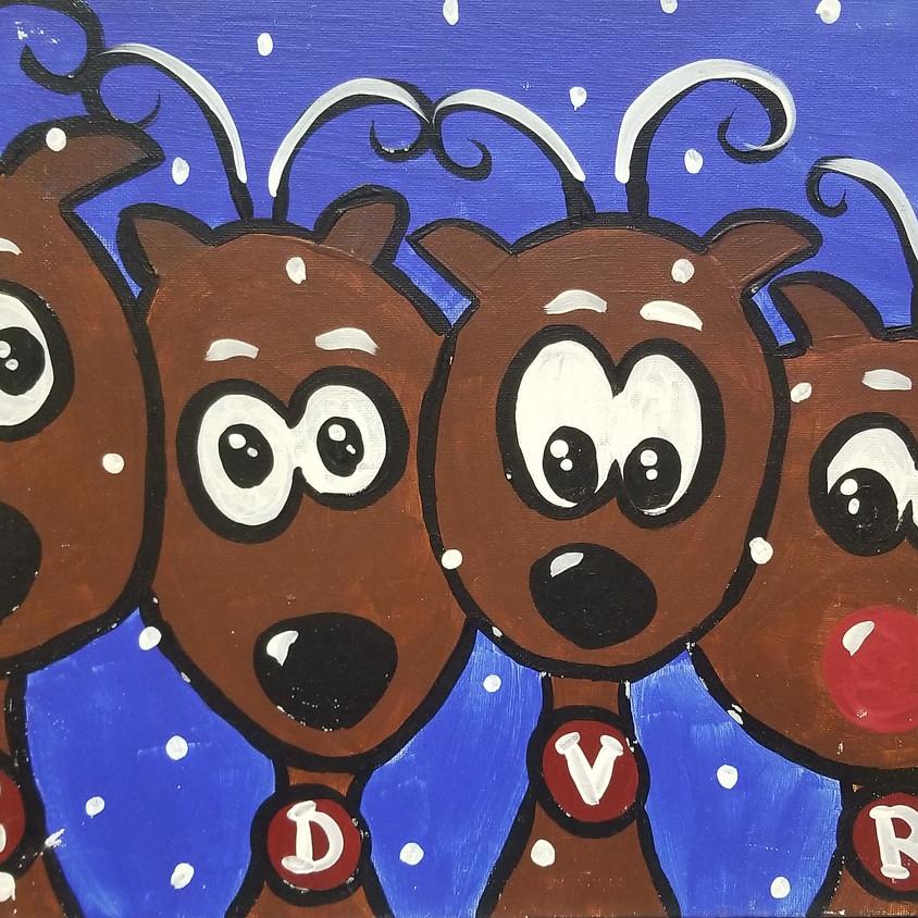 Kreative Kids: Reindeer Fun!!