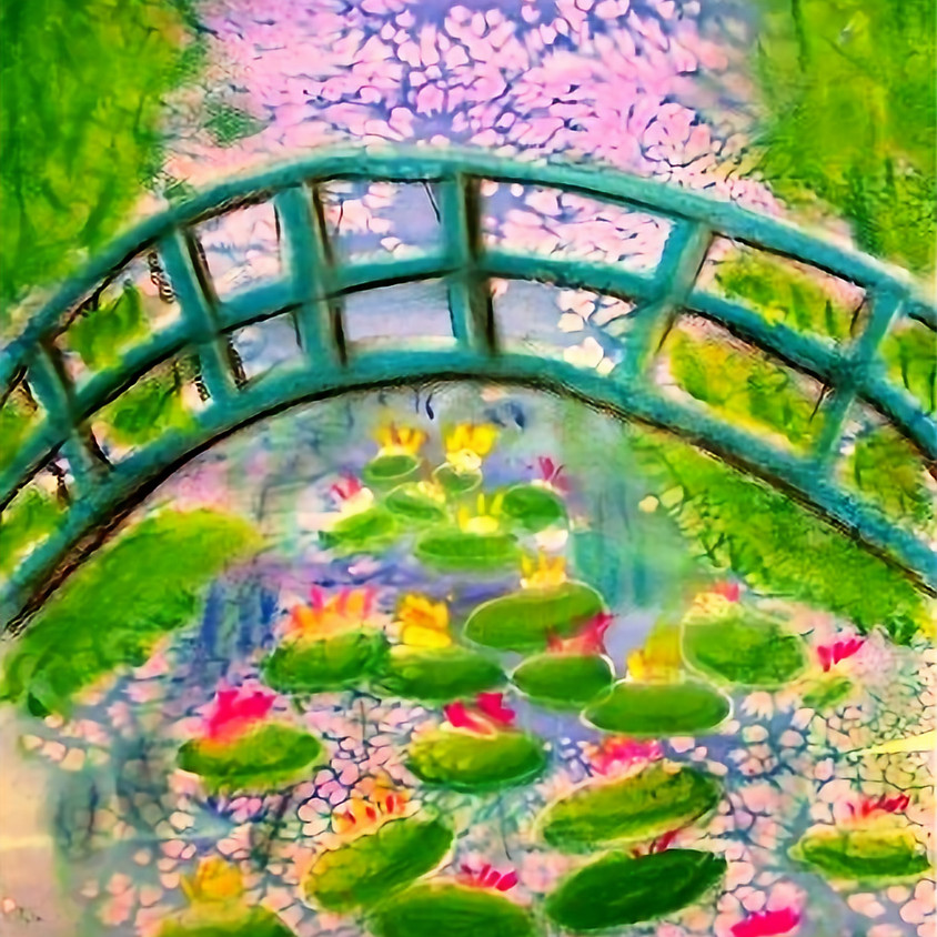 Kreative Kids: Monet and Watercolor