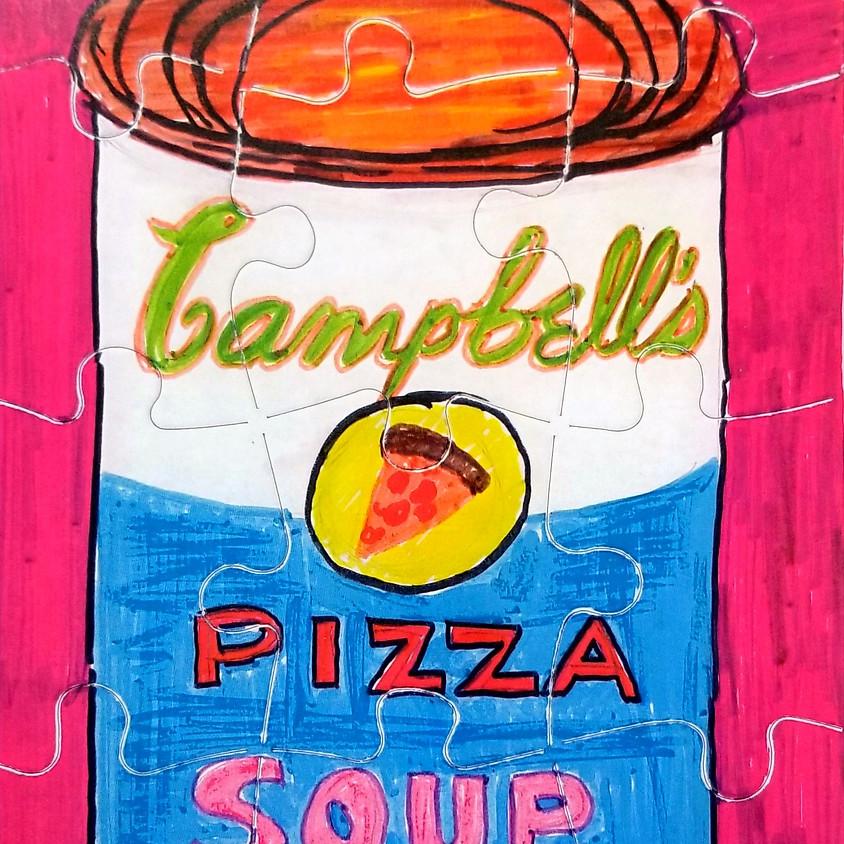 Kreative Kids: Pop Art Soup Can Puzzle