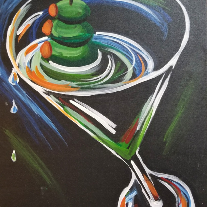 Three Olives Martini