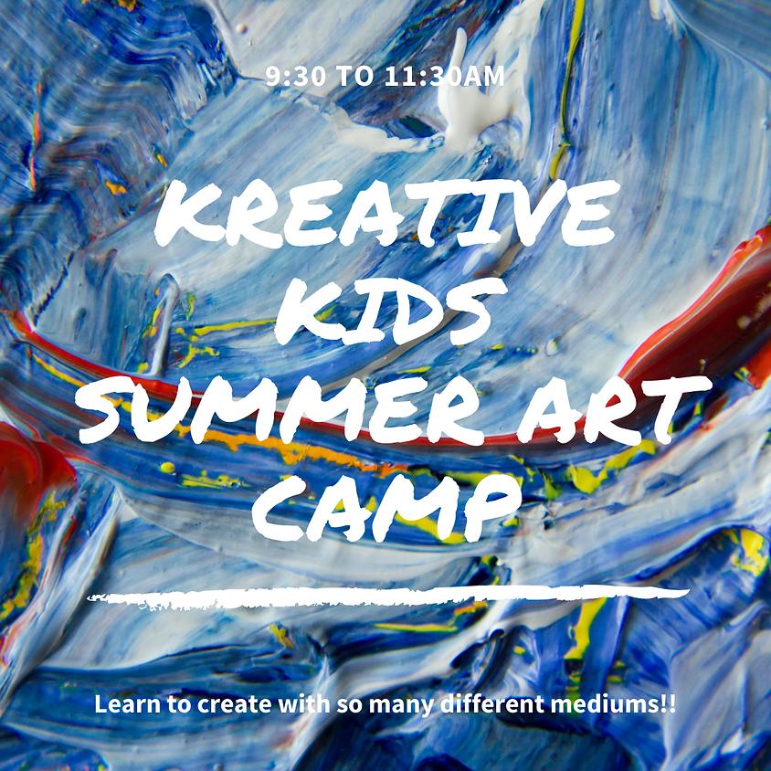 Kreative Kids: Summer Art Camp
