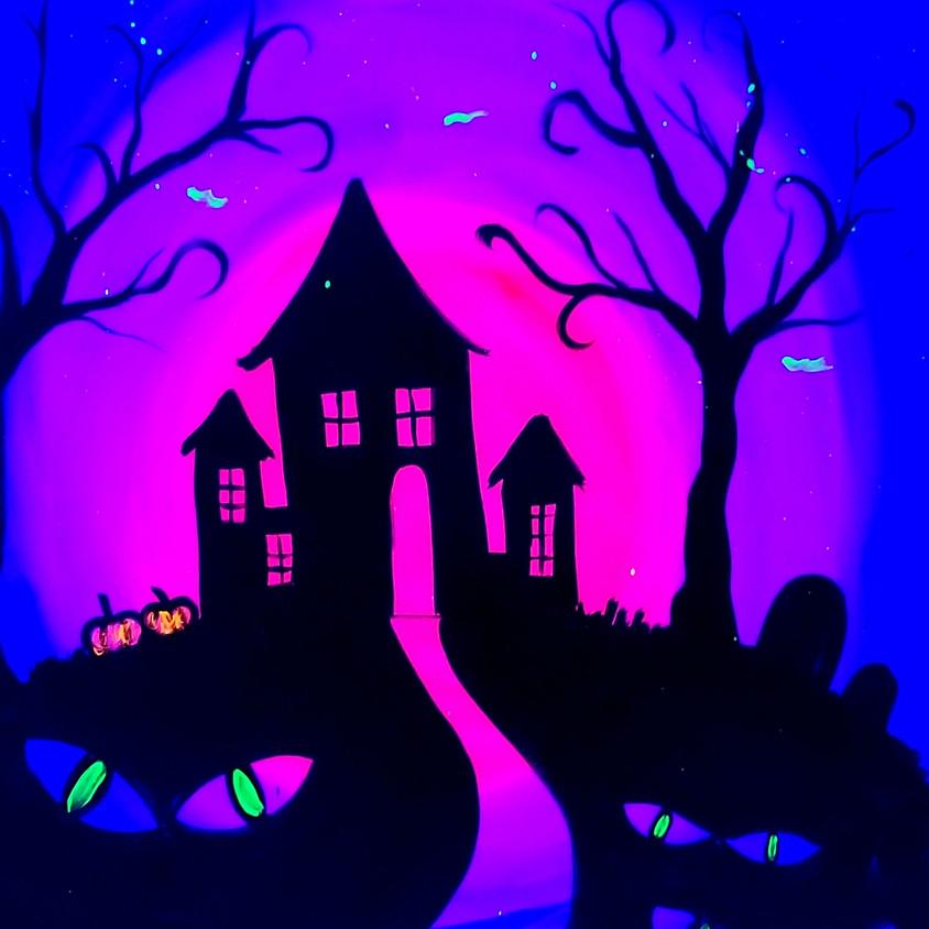 "Black Light Night ""Haunted House"""