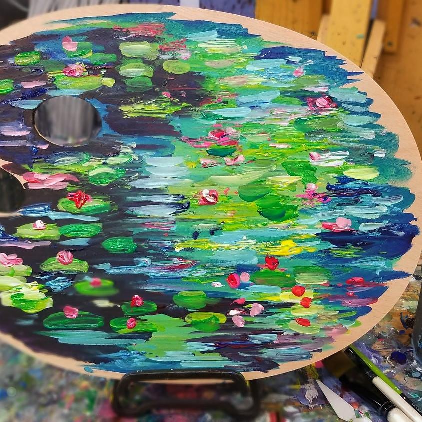 Monet Wood Palette