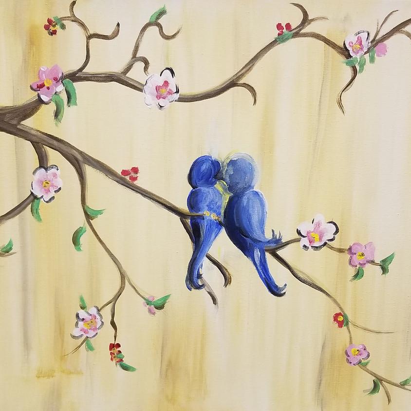 Kreative Kids: Two Blue Birds
