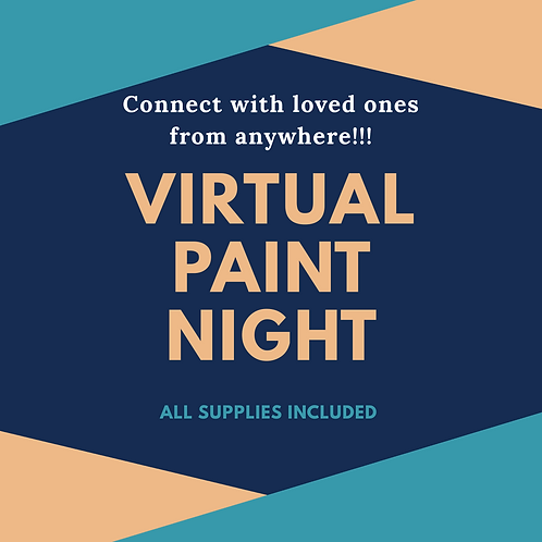 Private Virtual Paint ( 6 person party)