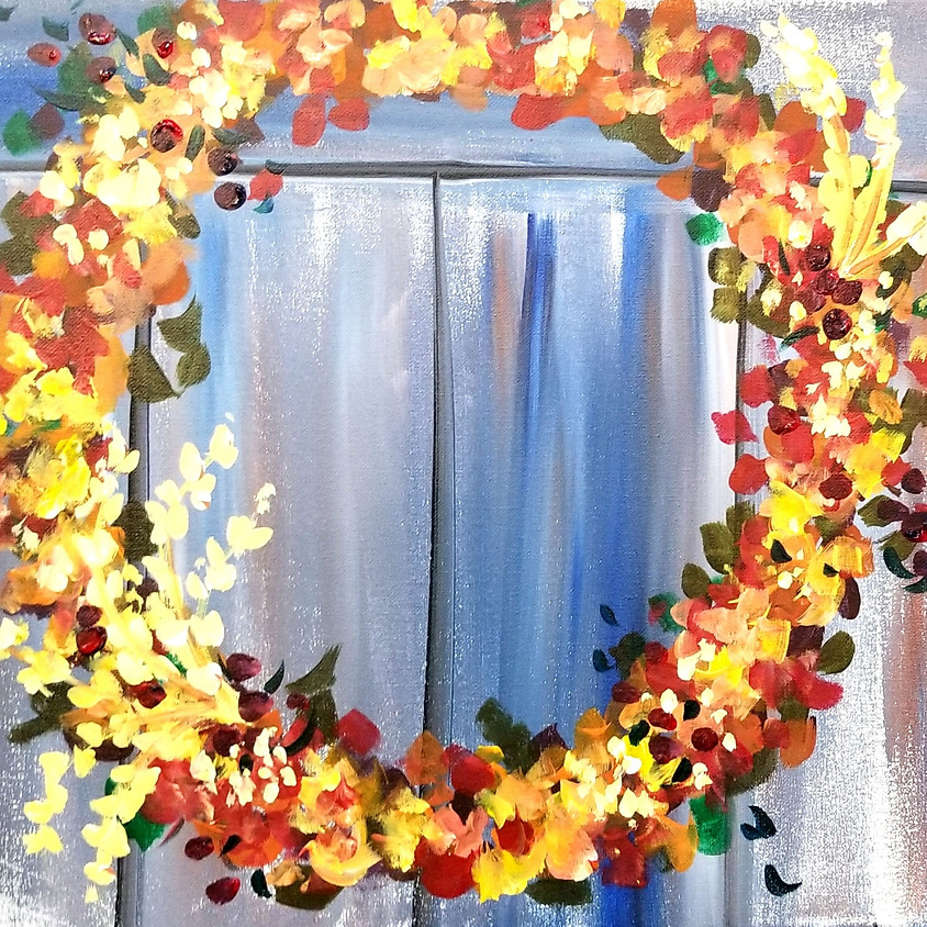 Fall Farmhouse Wreath
