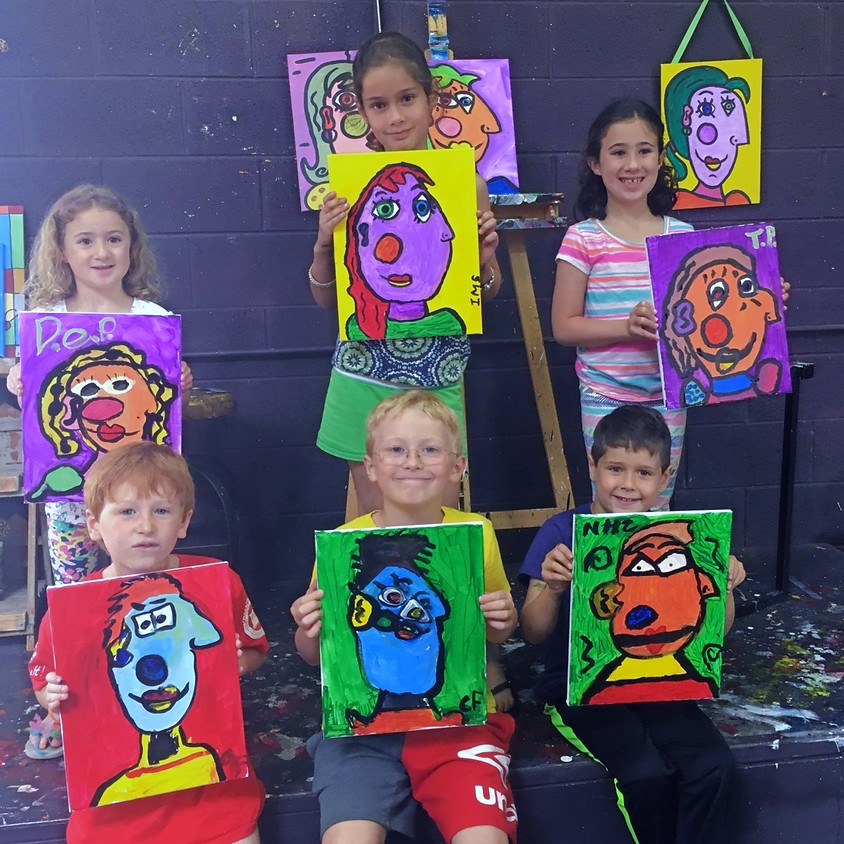 Kreative Kids: Picasso Faces