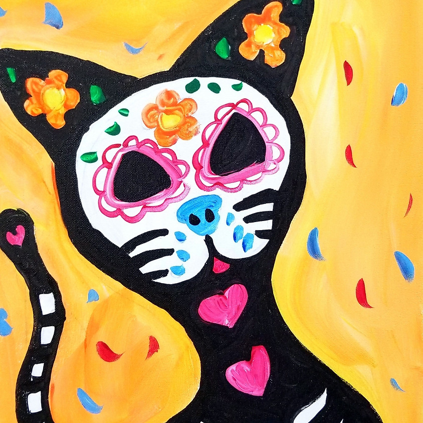 Kreative Kids: Sugar Skull Cat