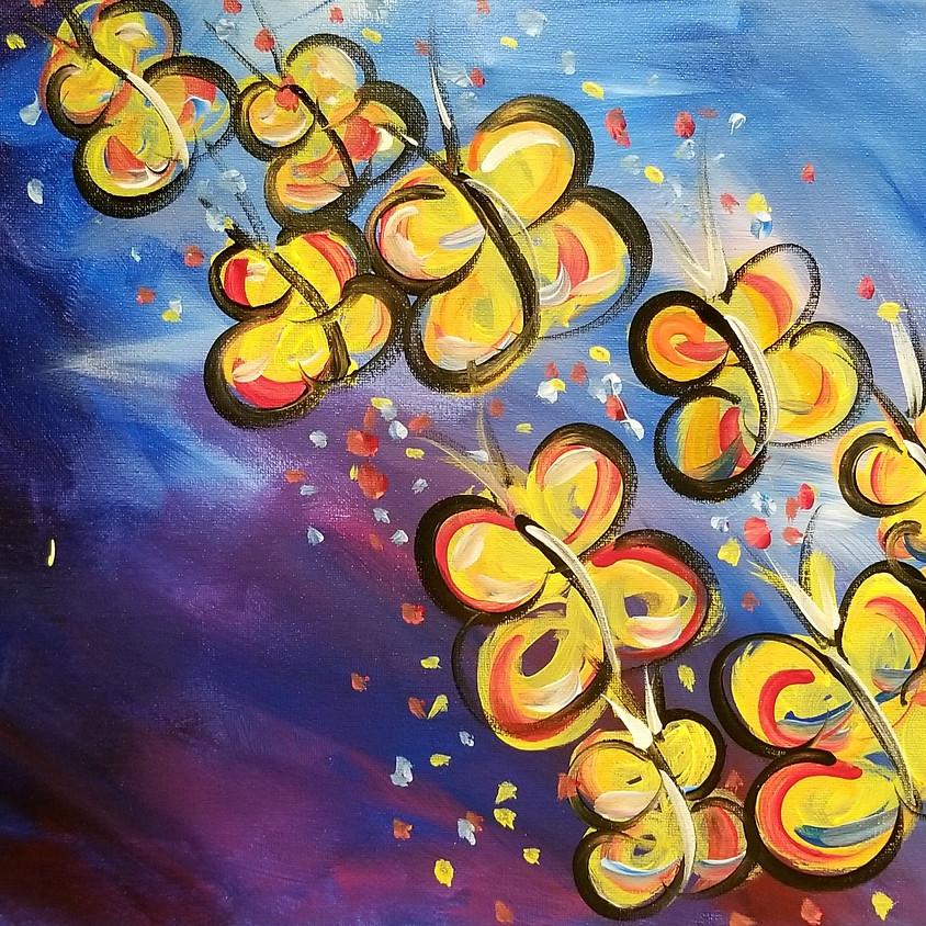 Kreative Kids: Butterflies in Flight