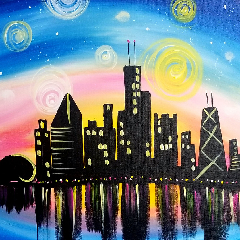 Chicago in Twilight