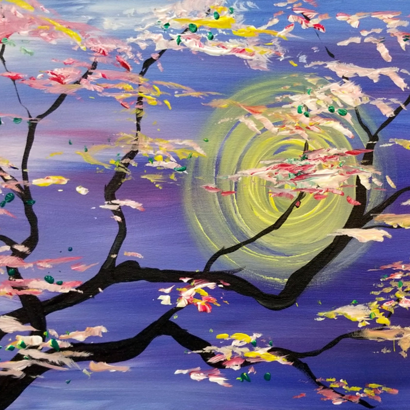 Kreative Kids: Cherry Bloosom Tree