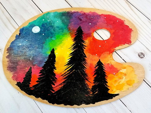 Colorful Forest Wood Palette