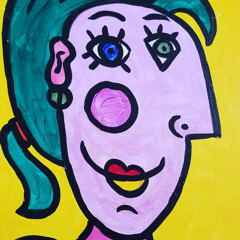 Kreative Kids: Picasso Portraits