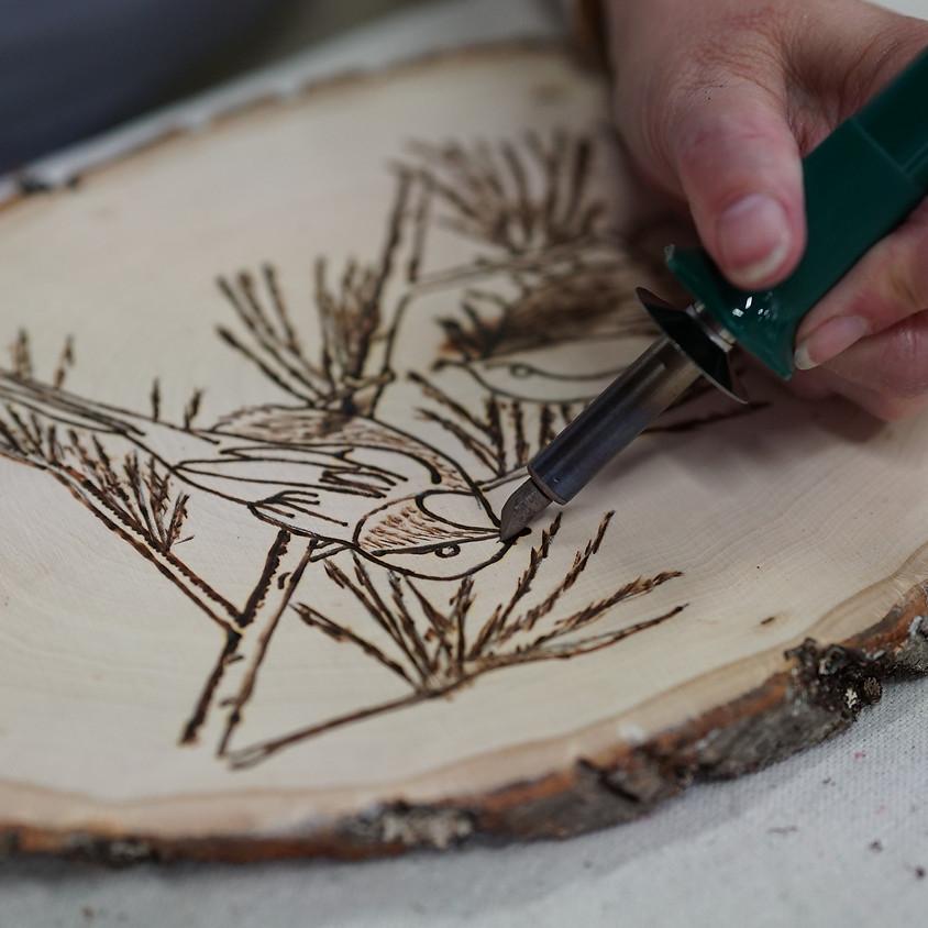 Pyrography: Intro to wood burning