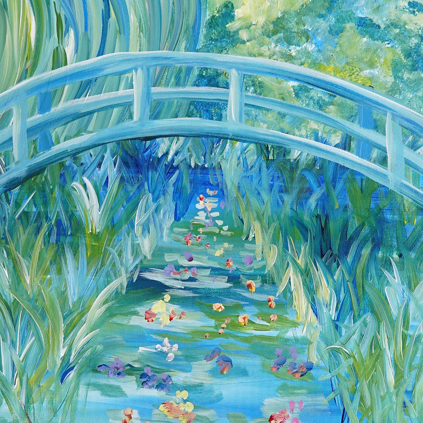 Monet Japanese Bridge ( only 2 seats left)