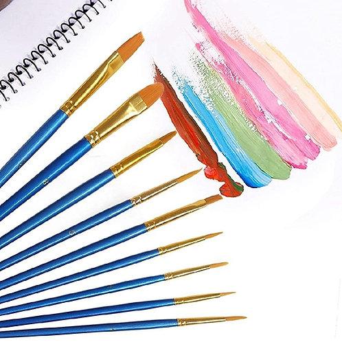 Acrylic Paint Brush Set
