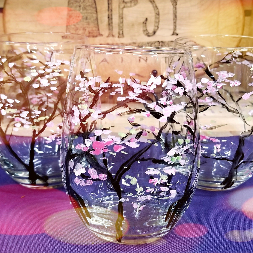 Paint your own Wine Glasses! Only $20