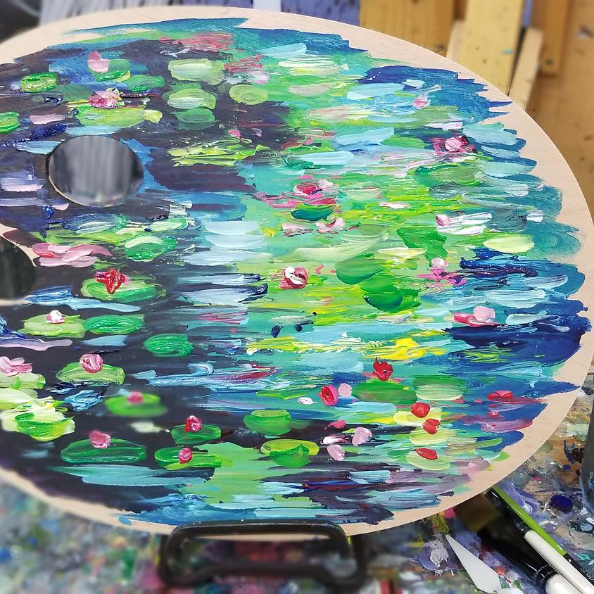 Waterlily Wood Palette