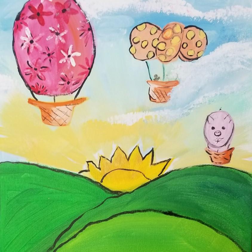 Kreative Kids: Hot Air Balloons