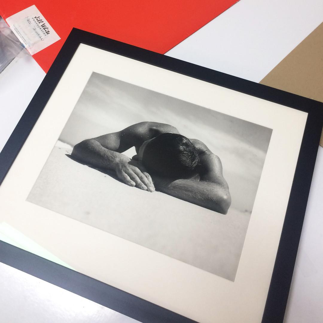 Custom Framing - Max Dupain 'Sunbaker'