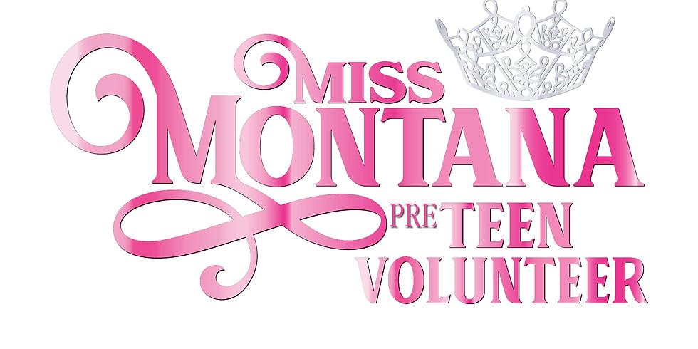 Miss Montana Volunteer Thursday Night Competition