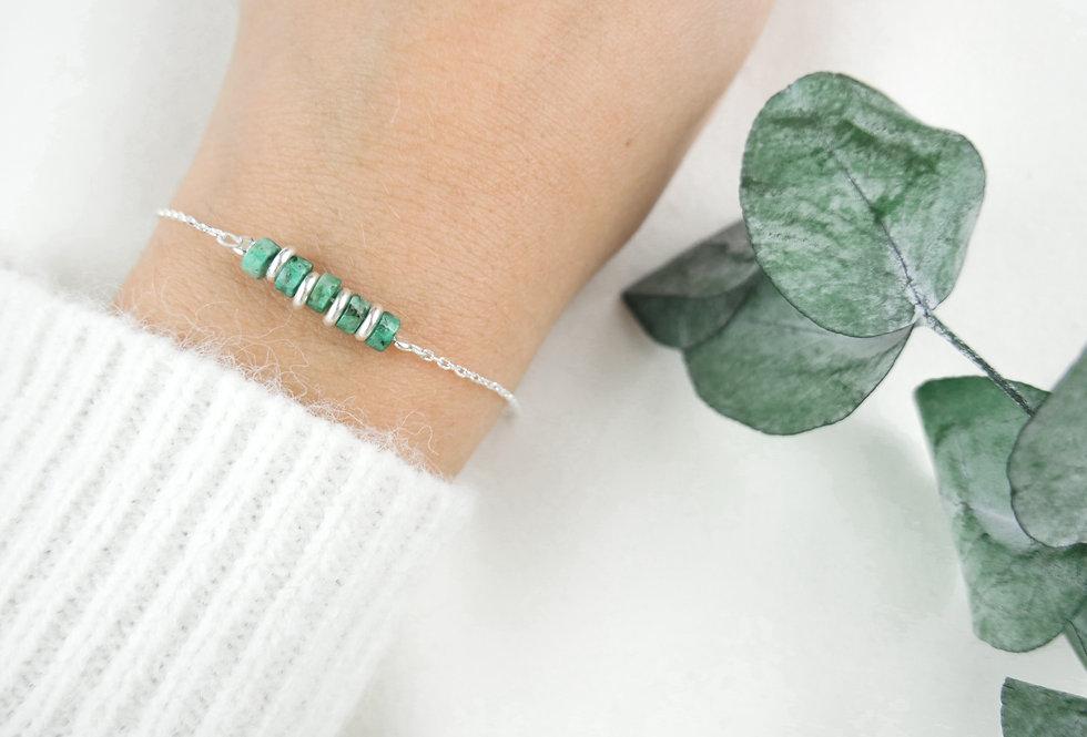 Bracelet CREATIVE - TURQUOISE - ARGENT