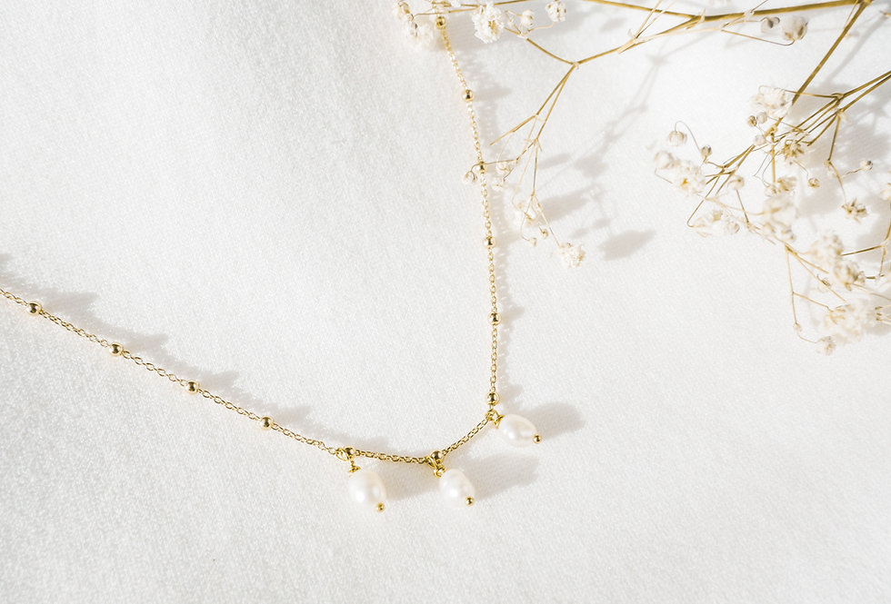 Collier EMMA - NACRE - OR