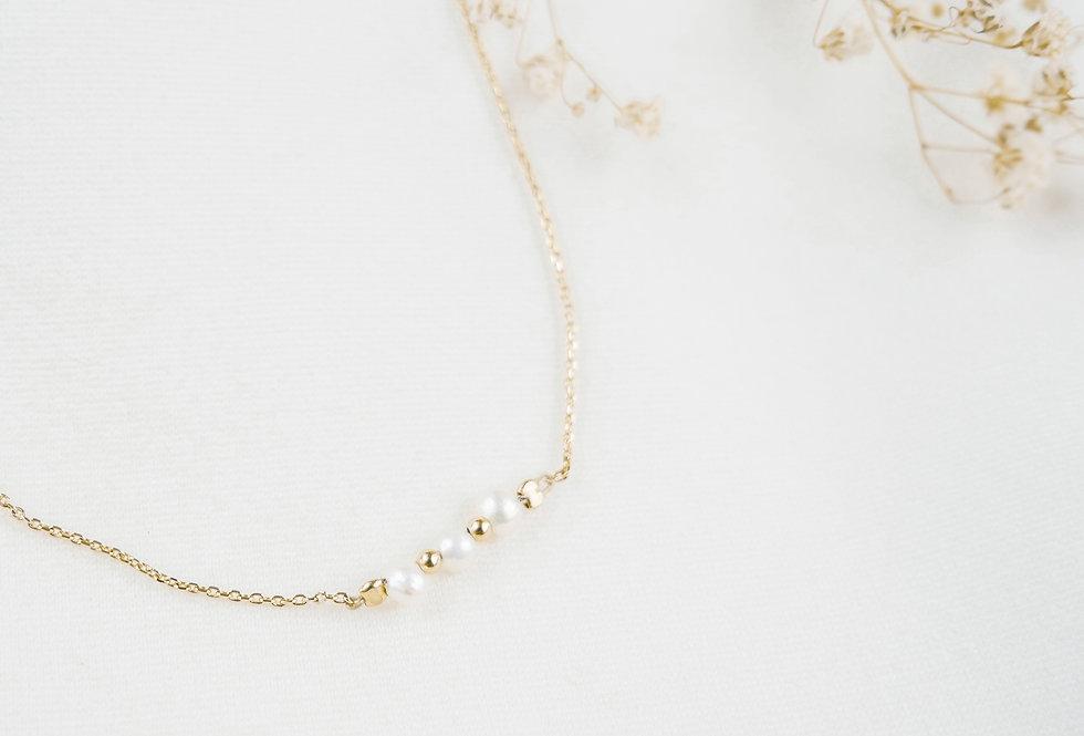 Bracelet ERINE - NACRE - OR