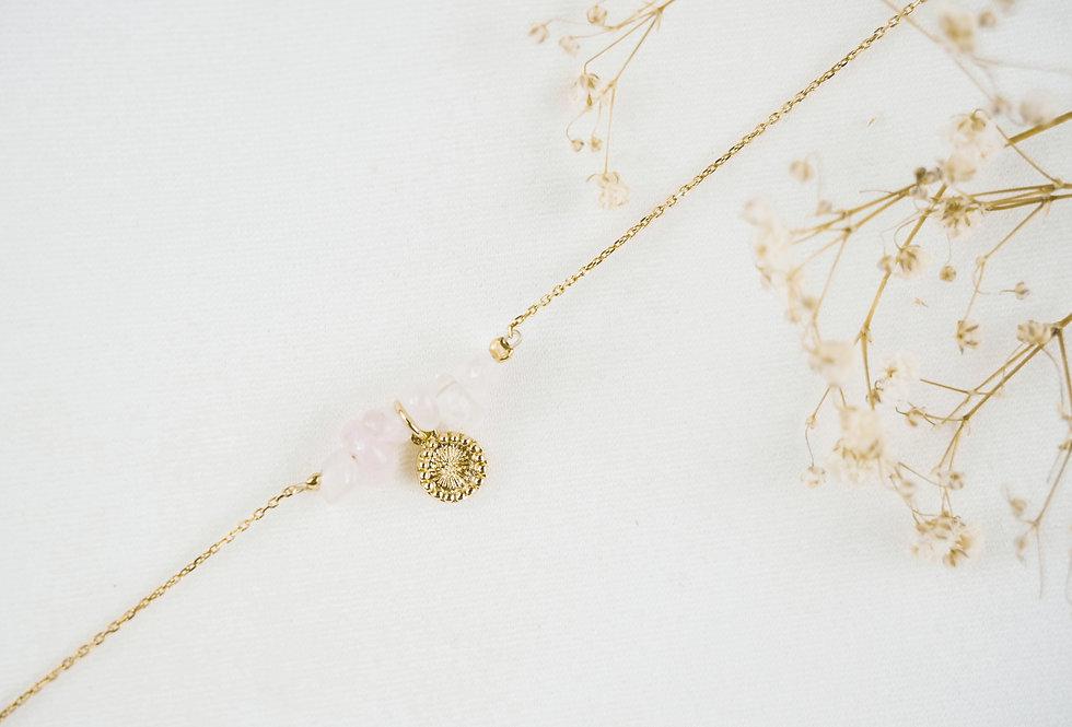 Bracelet SOLAIRE - QUARTZ - OR