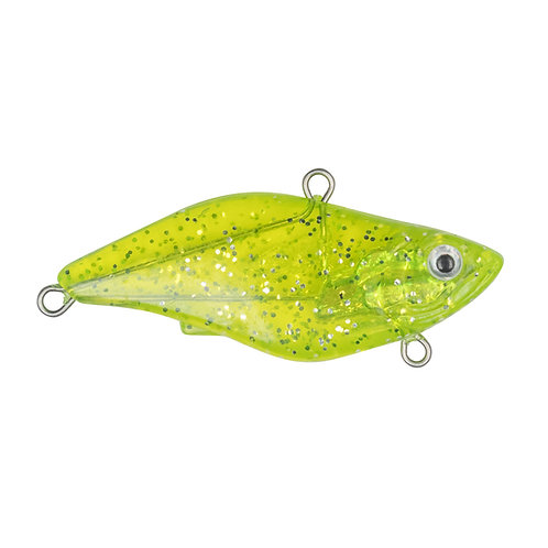 Soft Body Lipless Crank Bait Clear Chartreuse