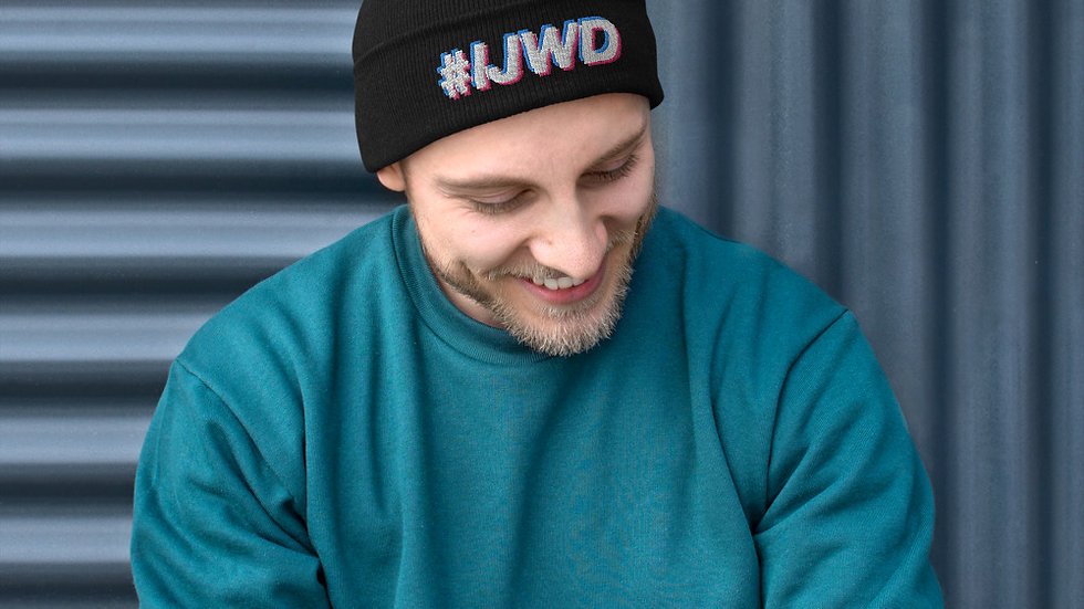 #IJWD Embroidered Beanie