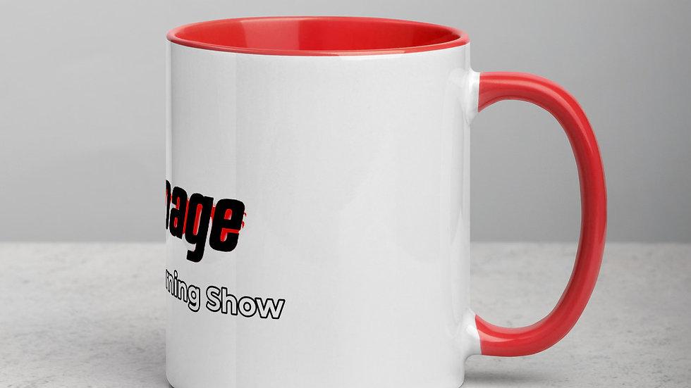#Slurpage I Feel Good Morning Show Mug with Color Inside