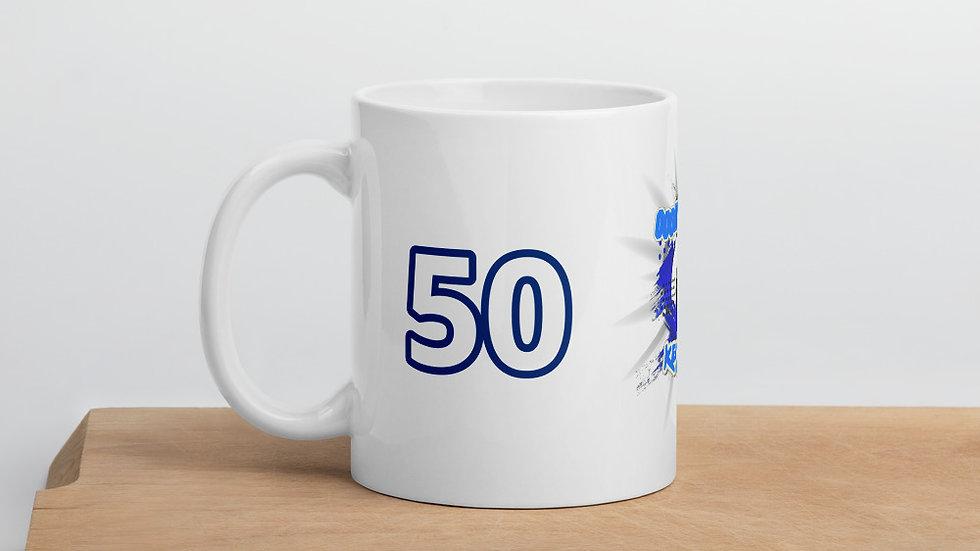 KeiNicole Ooh Uh Uhh 50th BDay Mug