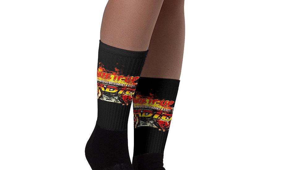 Blaze It Up Radio Socks