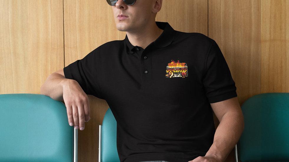 Blaze It Up Radio Men's Premium Polo