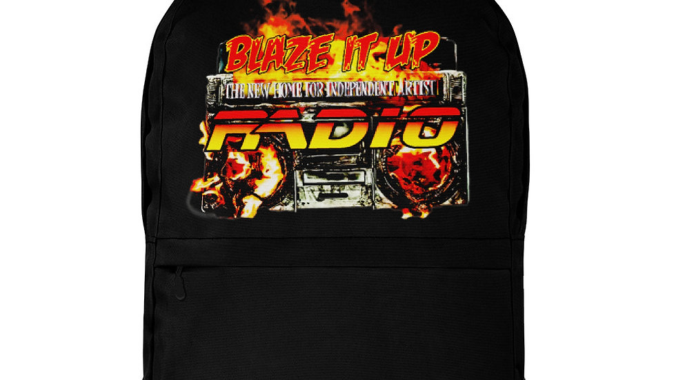 Blaze It Up Radio Backpack