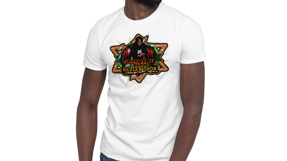 Blaze It Up Music Review Show Short-Sleeve Unisex T-Shirt