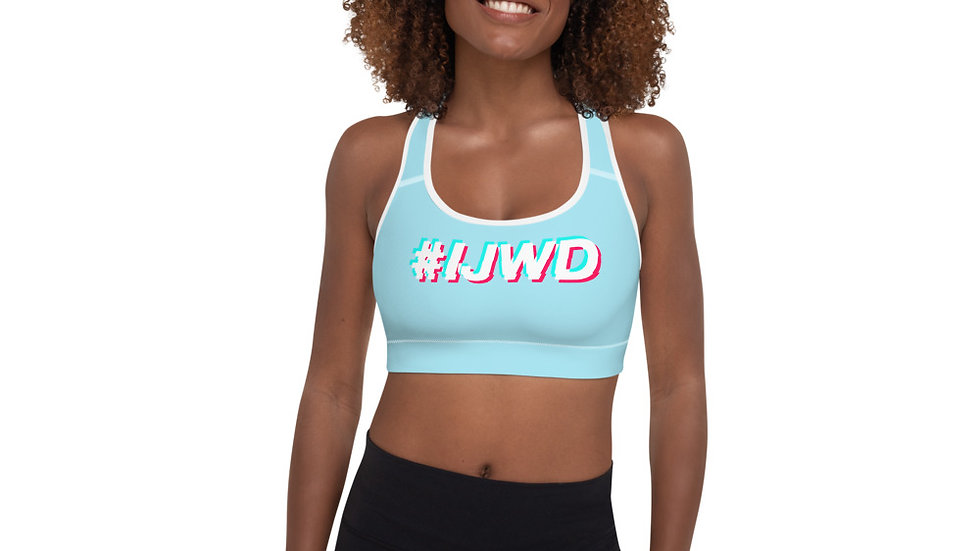 #IJWD Padded Sports Bra