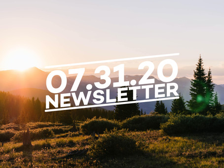 07.31.20 Cairn Guides Newsletter