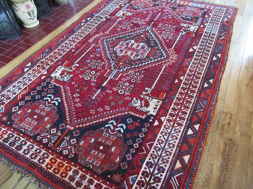 5 x 8 Hand Tied Persian Shiraz Rug