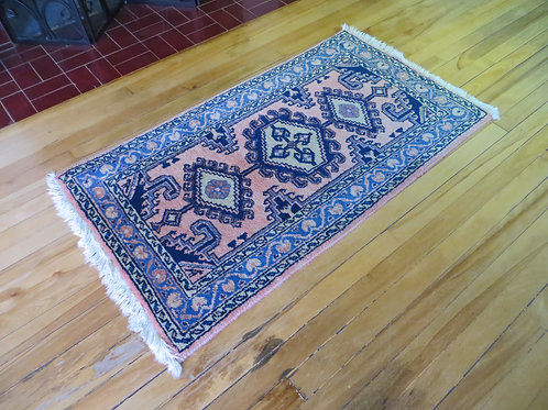 2 x 4 Hand Knotted Persian Viss Rug