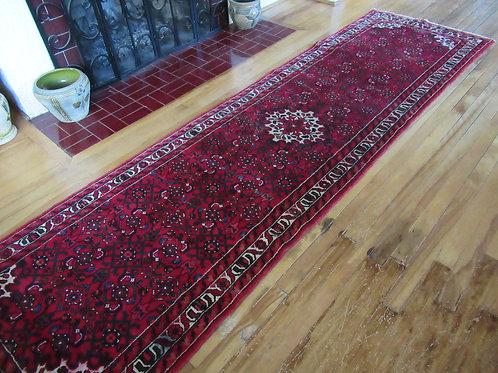 3 x 10 Hand Tied Persian Hosseinabad Rug