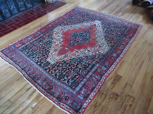 4 x 5.5 Hand Tied Persian Senneh Rug