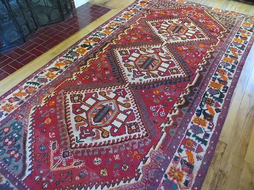5 x 10 Hand Tied Persian Afshar Rug