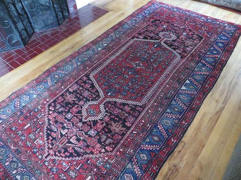 5 x 9.5 Hand Tied Persian Hamadan Rug