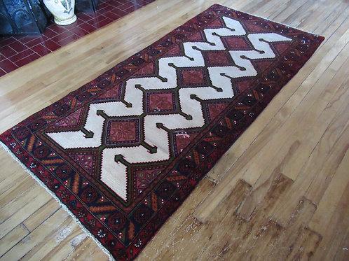 3 x 6 Hand Tied Persian Serab Rug