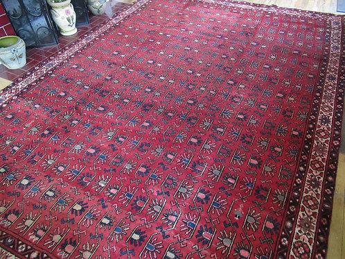 7.5 x 11 Hand Tied Persian Afshar Rug
