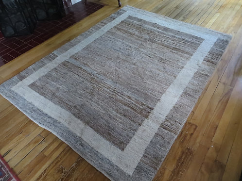 5 x 6.5 Hand Tied Persian Gabbeh Rug