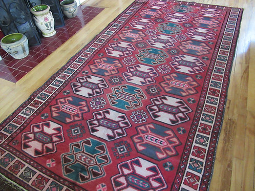 5 x 10 Hand Tied Persian Caucasian Rug